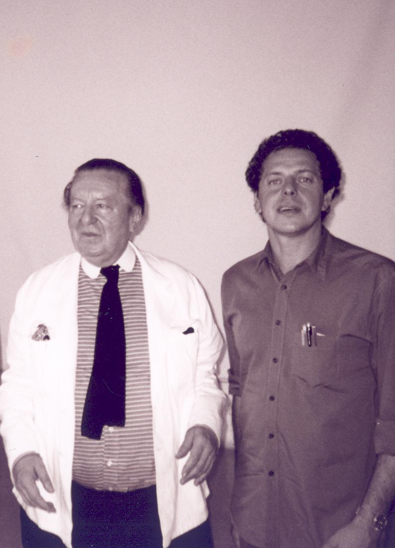 2001_Barcelona_Juan Herreros con Cedric Price