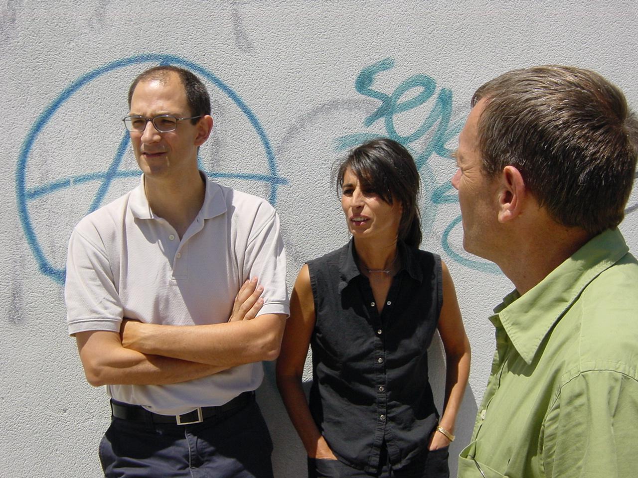 Atxu Amann, Andrés Cánovas and Nicolás Maruri
